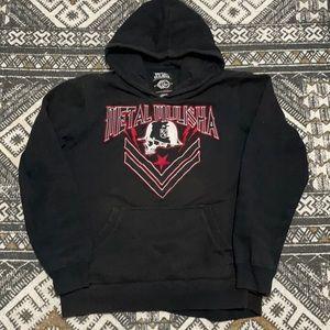Metal mulisha men's hoodie size M